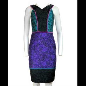 **Brand New** Three-toned jacquard dress